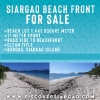 1,442sqm Beach Front in Burgos Siargao Island For Sale
