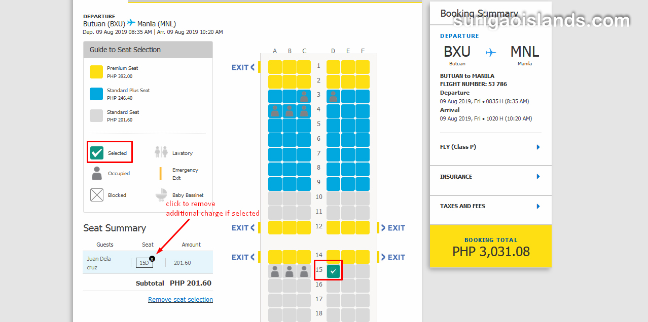 purchase cebupac ticket