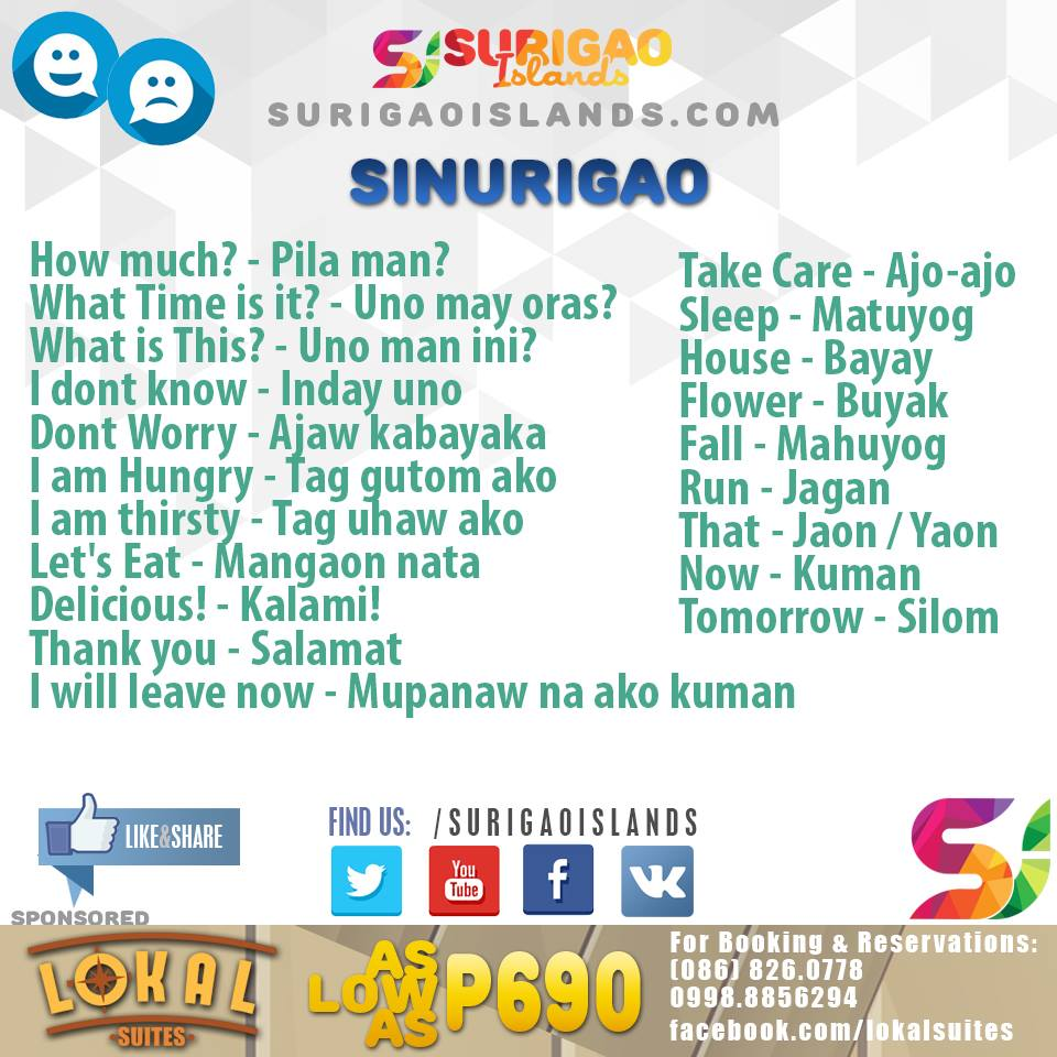 surigaonon language