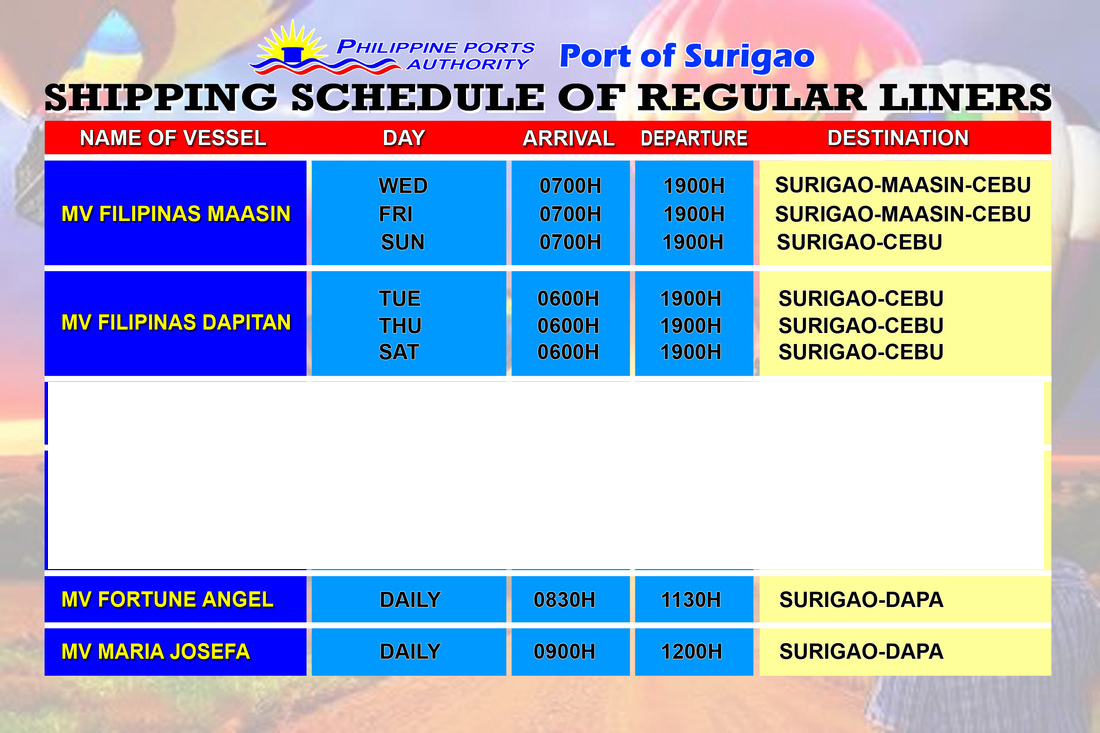 cebu to surigao fare rates