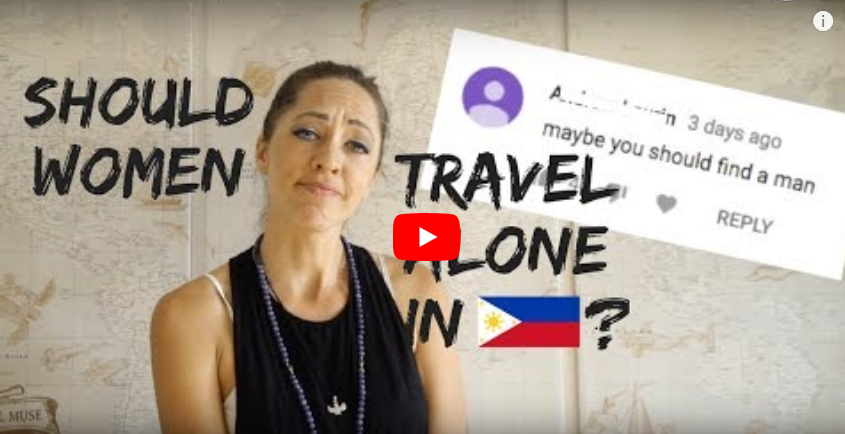women travel in philippines